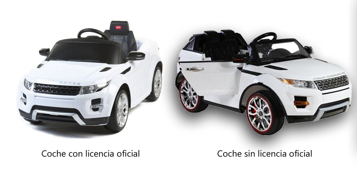 coches con y sin  licencia