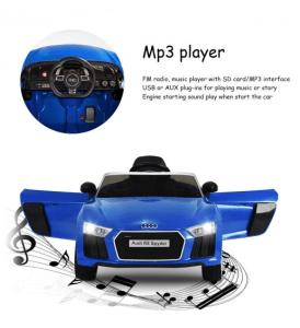 coche para niños mando para padres Audi-R8
