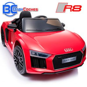 Coche-eléctrico para niños Audi R8