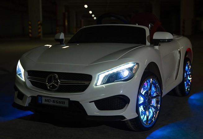 Coche para ni os a bateria estilo mercedes scx blanco for Asientos infantiles coche