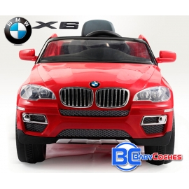 Coche para niños eléctrico BMW X6 - 12V