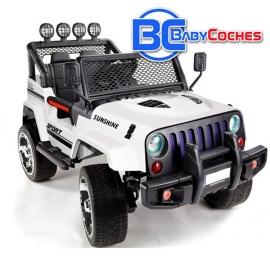 Coche de batería para niños Jeep RAPTOR 4X4