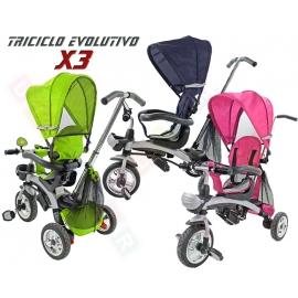 TRICICLO EVOLUTIVO X3