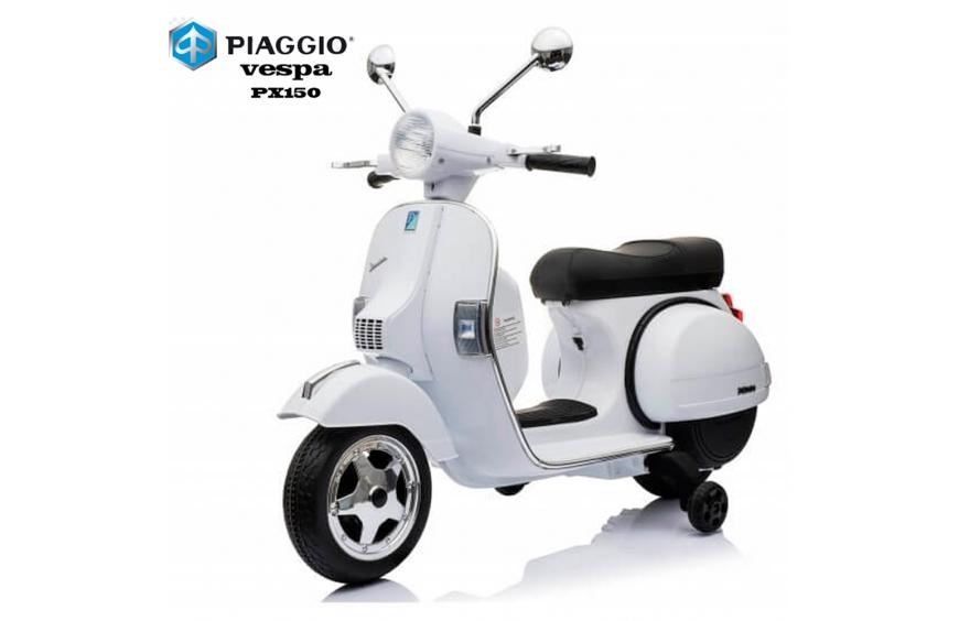 Moto eléctrica para niños Vespa