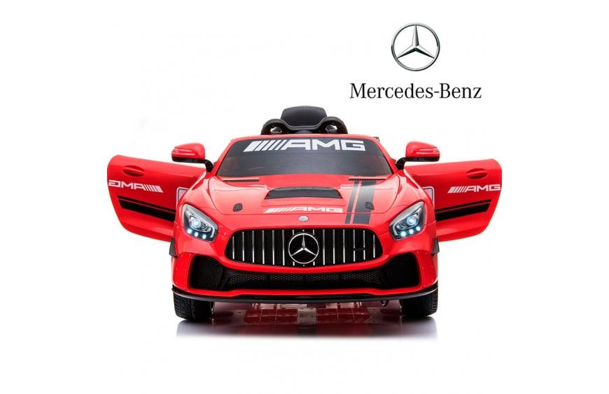Coche de batería para niños Mercedes AMG-GT 4