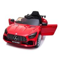 Coche de batería para niños Mercedes GT-R con neumáticos de caucho