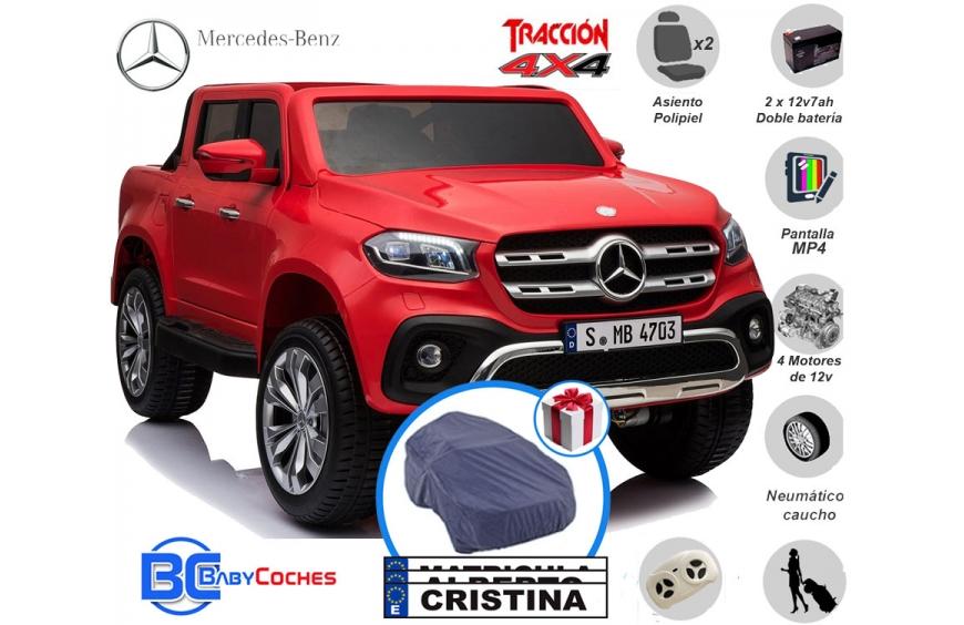Mercedes Clase X 4x4 Coches de batería para niños