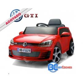 Coche Eléctrico infantil Golf GTI