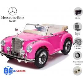 Coches eléctricos para niño Mercedes-Benz 300S