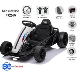 Kart eléctrico FX24V de 24 voltios