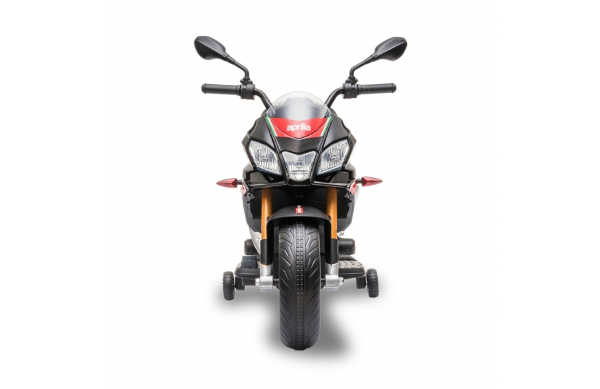 APRILIA TUONO 12V Moto eléctrica para niños con ruedas EVA
