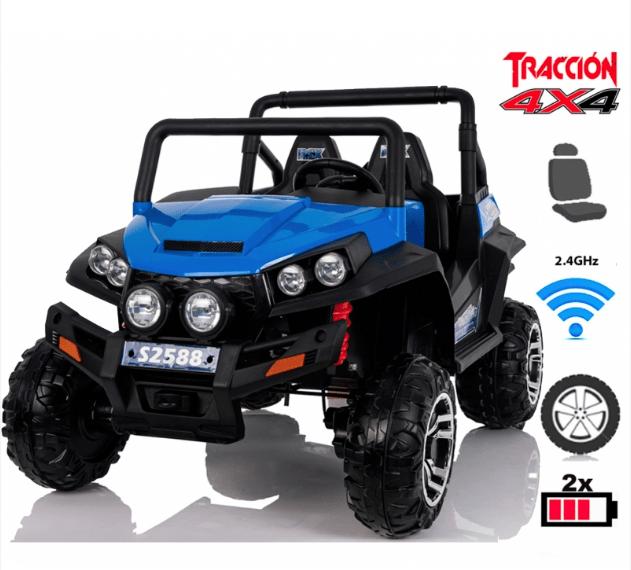 Coche electrico para niños 4x4 Buggy Safari