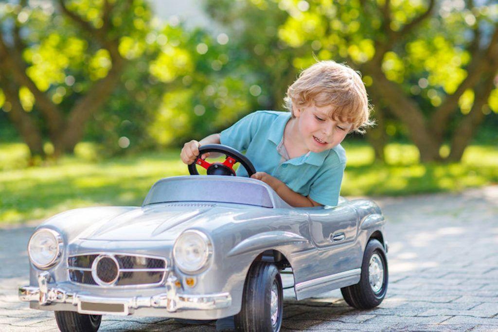 Vehículos infantiles, el primer contacto de los niños con vehículos